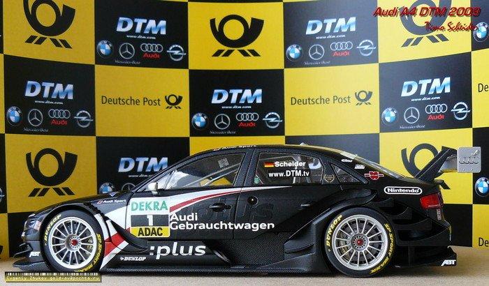 Audi A4 DTM 2009 Timo Scheider