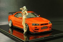 Nissan Skyline GT-R R34 Pure Red