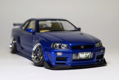 Nissan Skyline GT-R R34 Mica Blue