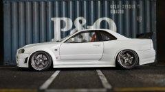 Nissan Skyline GT-R R34 Pearl White