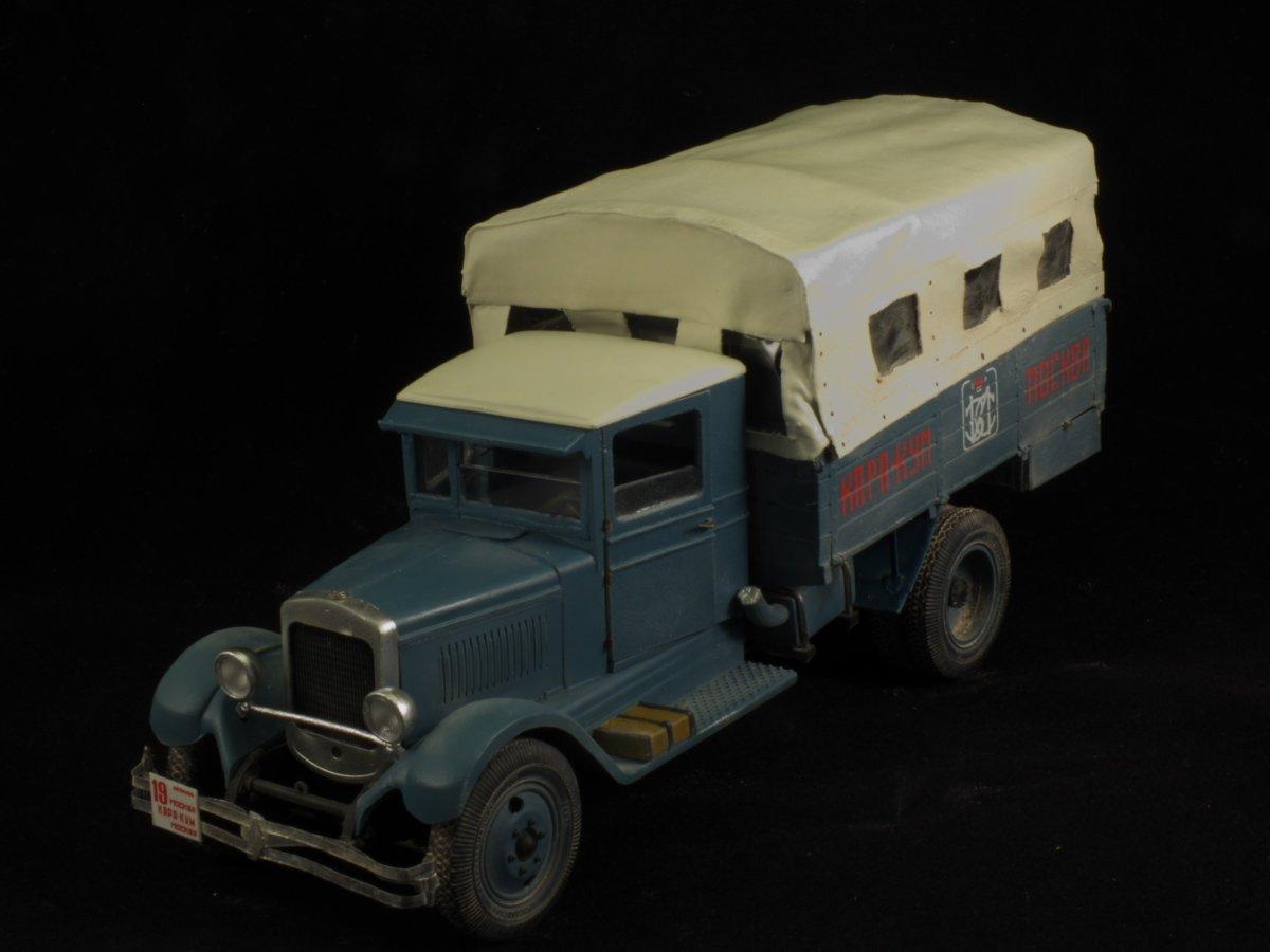 АМО-3 Каракумский автопробег