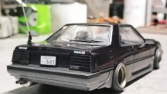 [Aoshima] Nissan Skyline r30 Iron Mask (bosozoku)