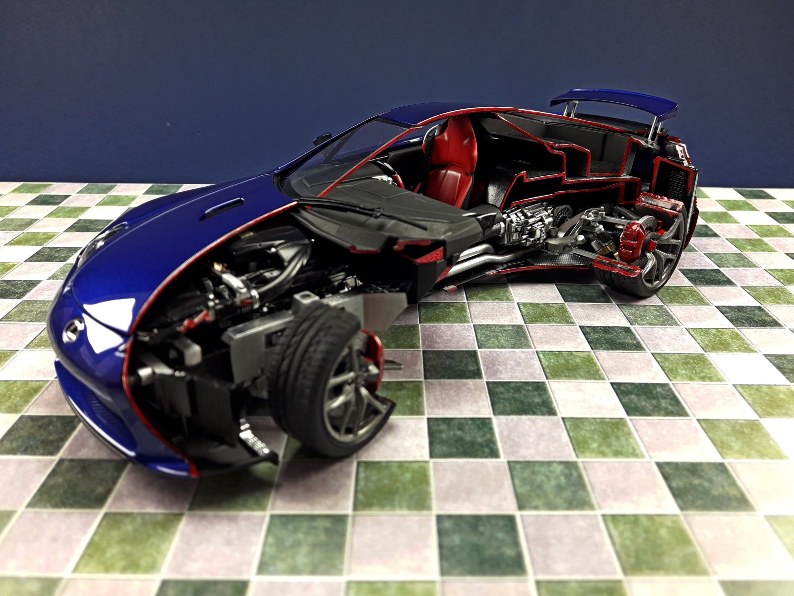 Lexus LFA - Tamiya 1:24
