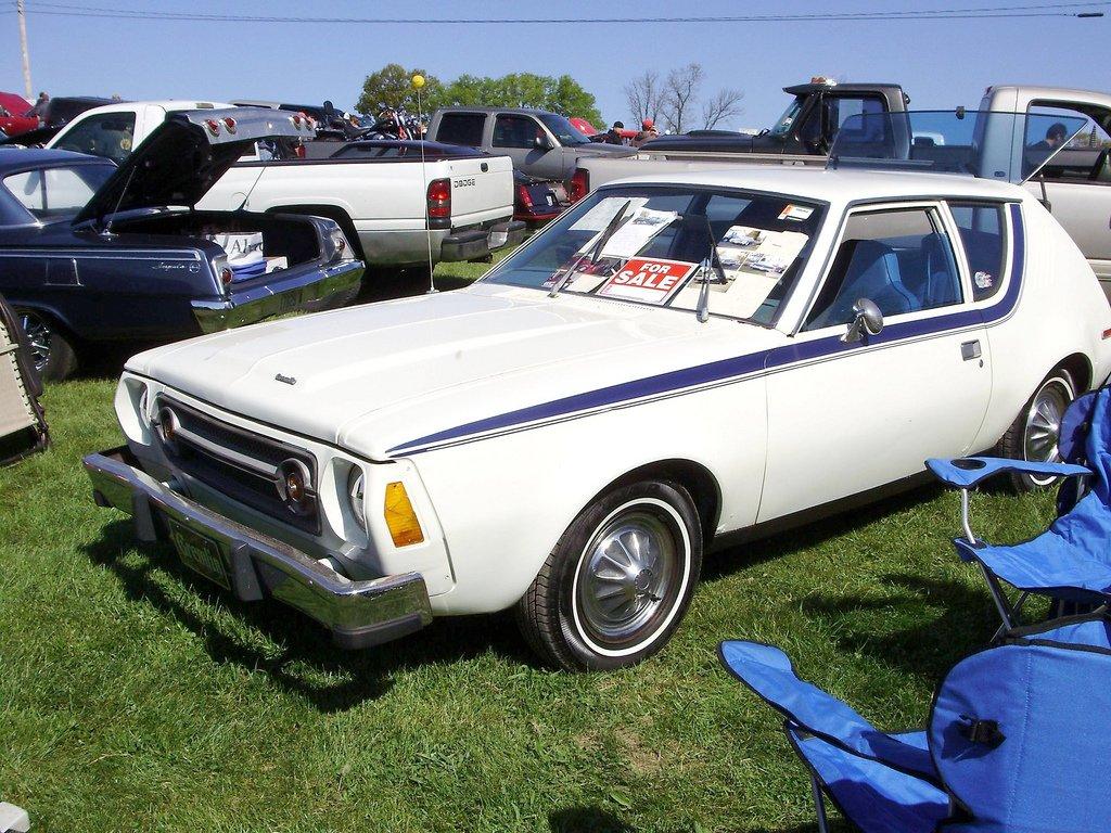 1976 AMC Gremlin - White - 001.jpg