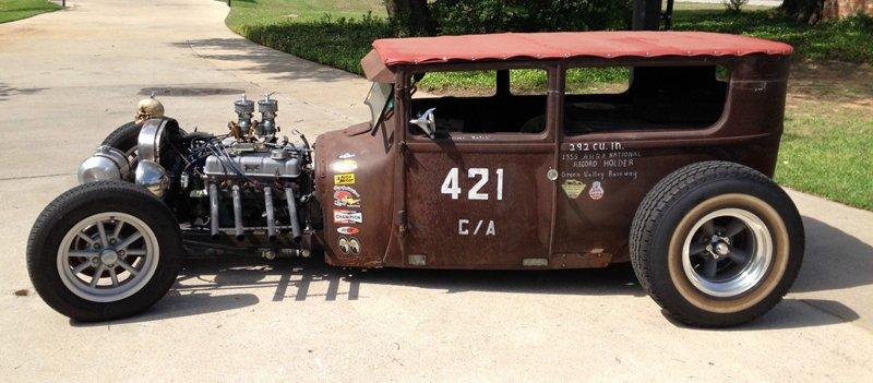 1927 Model T Tudor Sedan - Rat Rod - 247Autoholc Blog - Sedan Saturday - Hotrod - Patina.JPG
