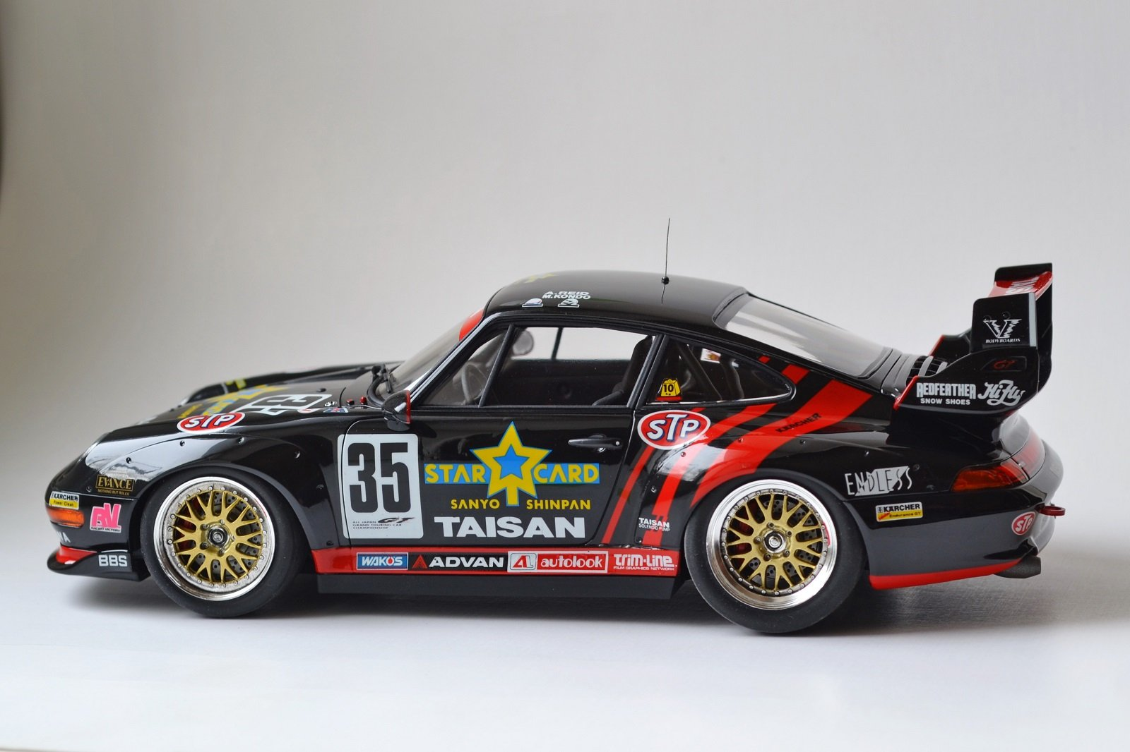 Porsche 911 GT2 Taisan Starcard