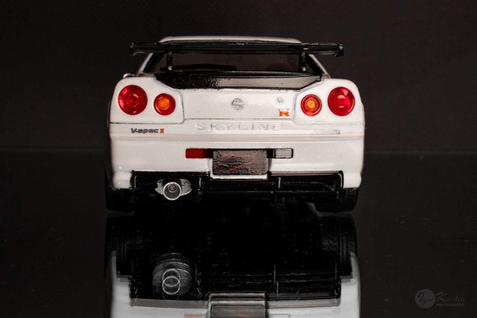 Aoshima 1:24 Mine's Nissan Skyline GT-R R34
