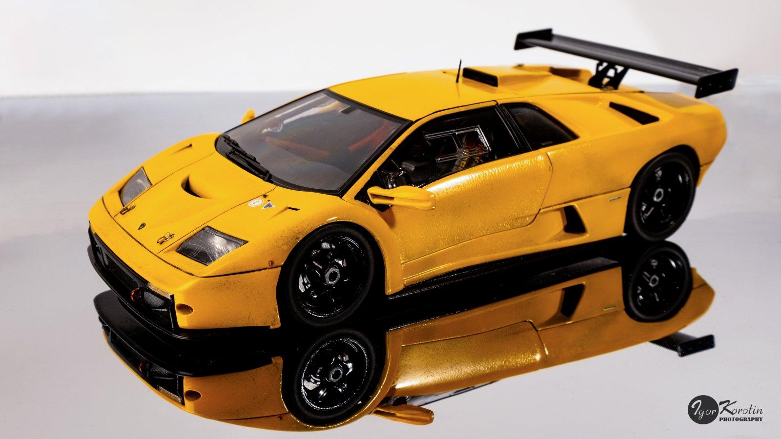 Aoshima Lamborghini Diablo GTR