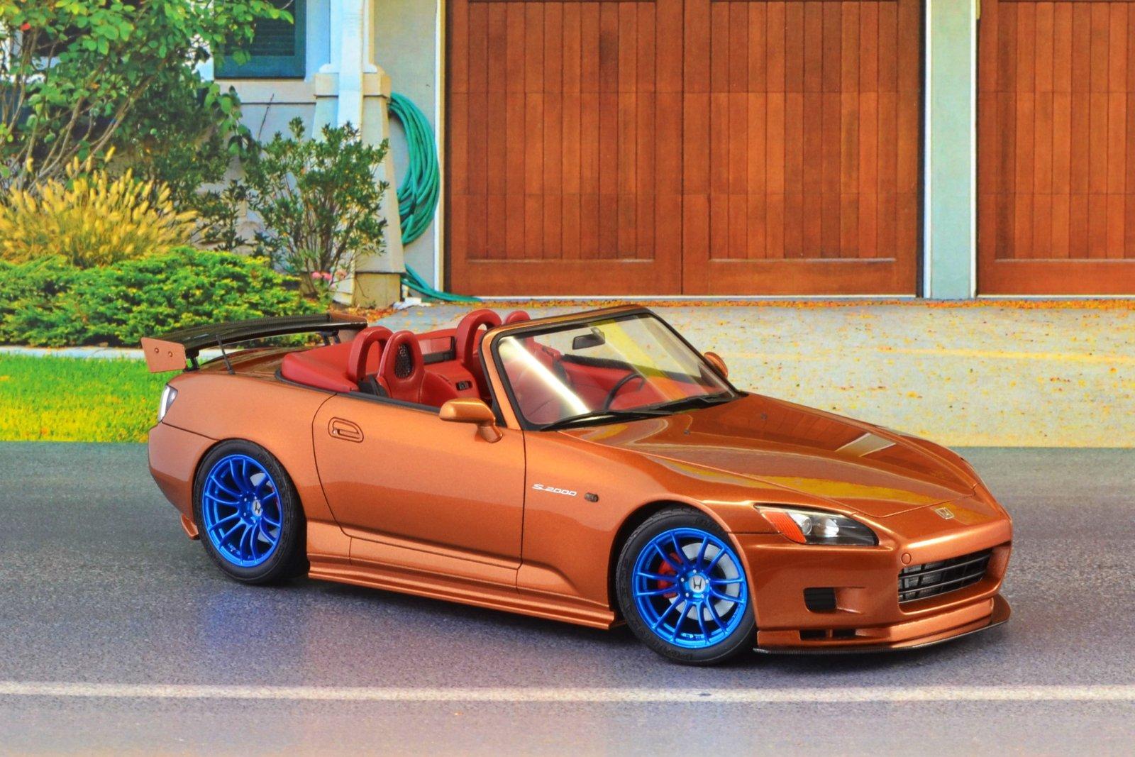 Honda s 2000 tamiya 24245