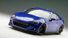 Subaru BRZ limited-edition Series. Blue model for 2015