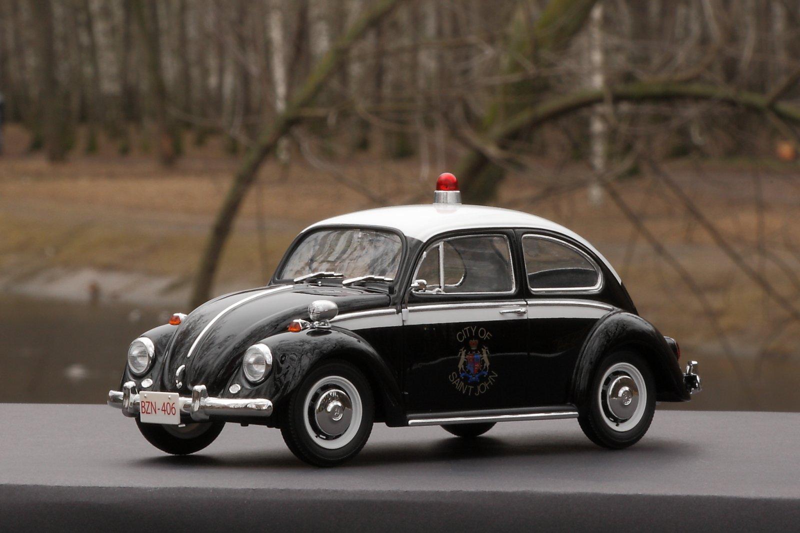 "Volkswagen Beetle Type 1 ""Police Car""(1/24, Hasegawa)"