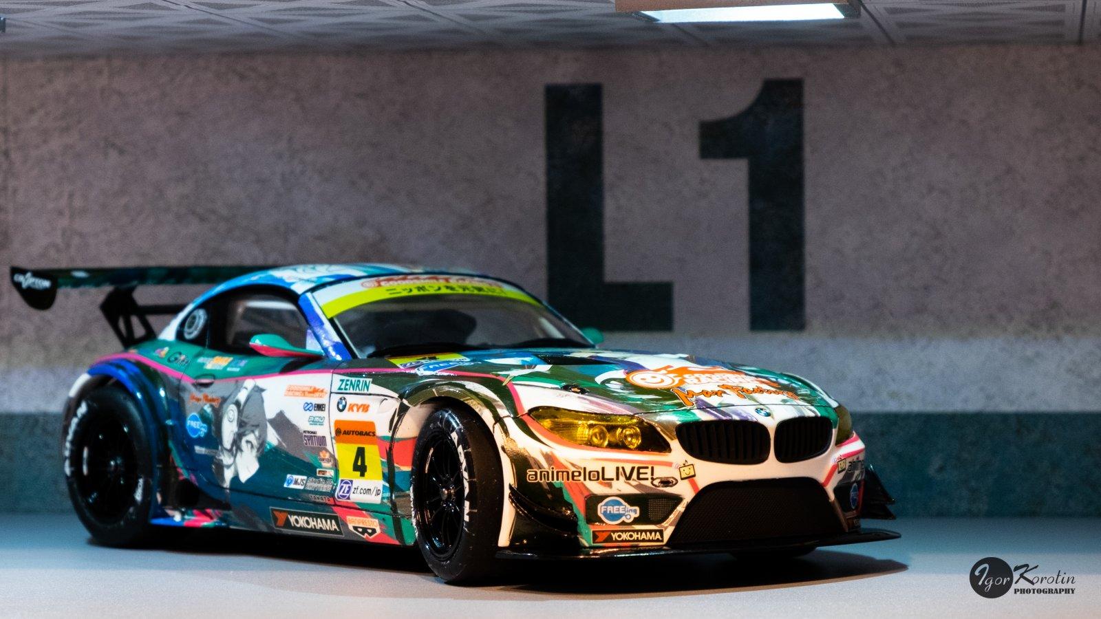 BMW Z4 2014 Super GT RD1 отFujimi.